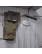 lavanderia,camicie,maglie,pantaloni casual, abbigliamento casual